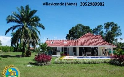Cód 26 – Quinta Vacacional Marion 2, Villavicencio (Meta), 20 pax