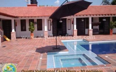 Cód 39 – Finca Casa Meza, Villavicencio (Meta), 30 personas
