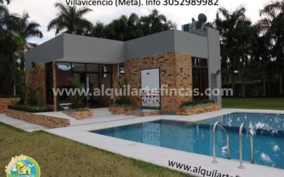 Cód 62- Casas Campestres Las Villas, Villavicencio (Meta), 10 personas x 2