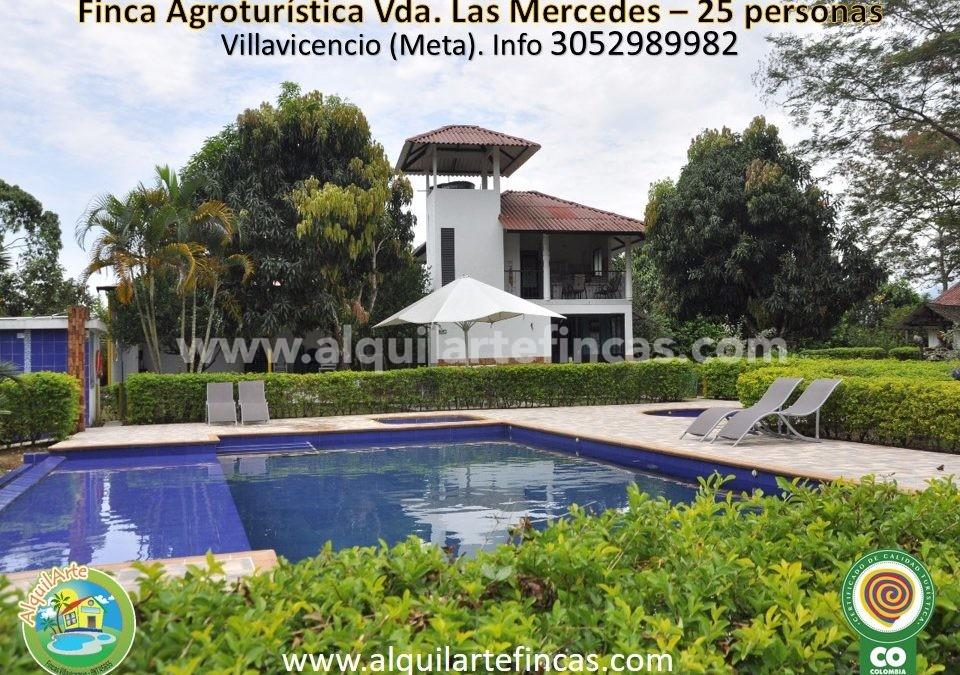 Cód 64 – Finca Agroturística Vereda Las Mercedes, 25 personas