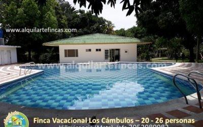 Cód 67 – Finca Los Cámbulos, Villavicencio (Meta), 20-26 personas