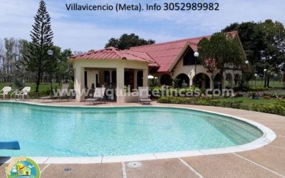 Cód 73, Finca Turística La Hacienda, Villavicencio (Meta), 12 pax